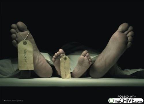 anti smoking advertising 9 Clever and impactful anti smoking ads, Part 3 (14 photos)