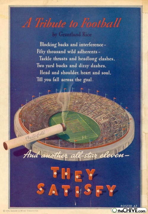 old smoking ads 9 Awesomely horrible old smoking ads Part II (35 Photos)