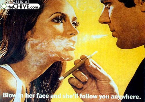 smoking lead awesome Awesomely horrible old smoking ads Part II (35 Photos)