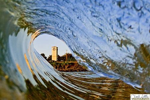 building through wave clark little photo